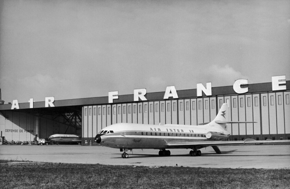 Sud Aviation Caravelle Getty