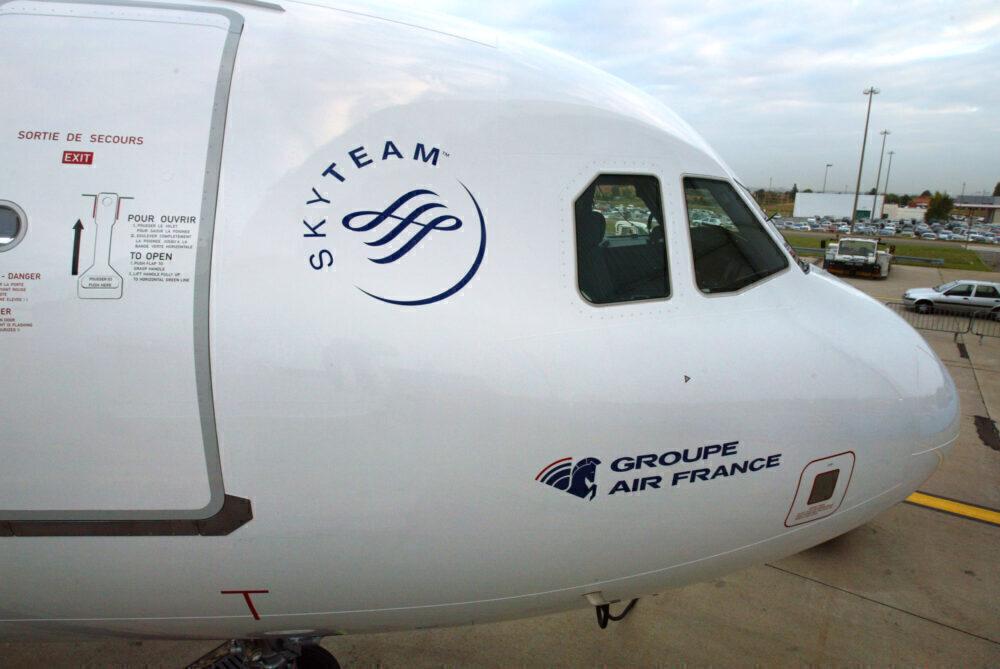 AERONAUTIQUE-TRANSPORT-AIRBUS-AIR France-SKYTEAM