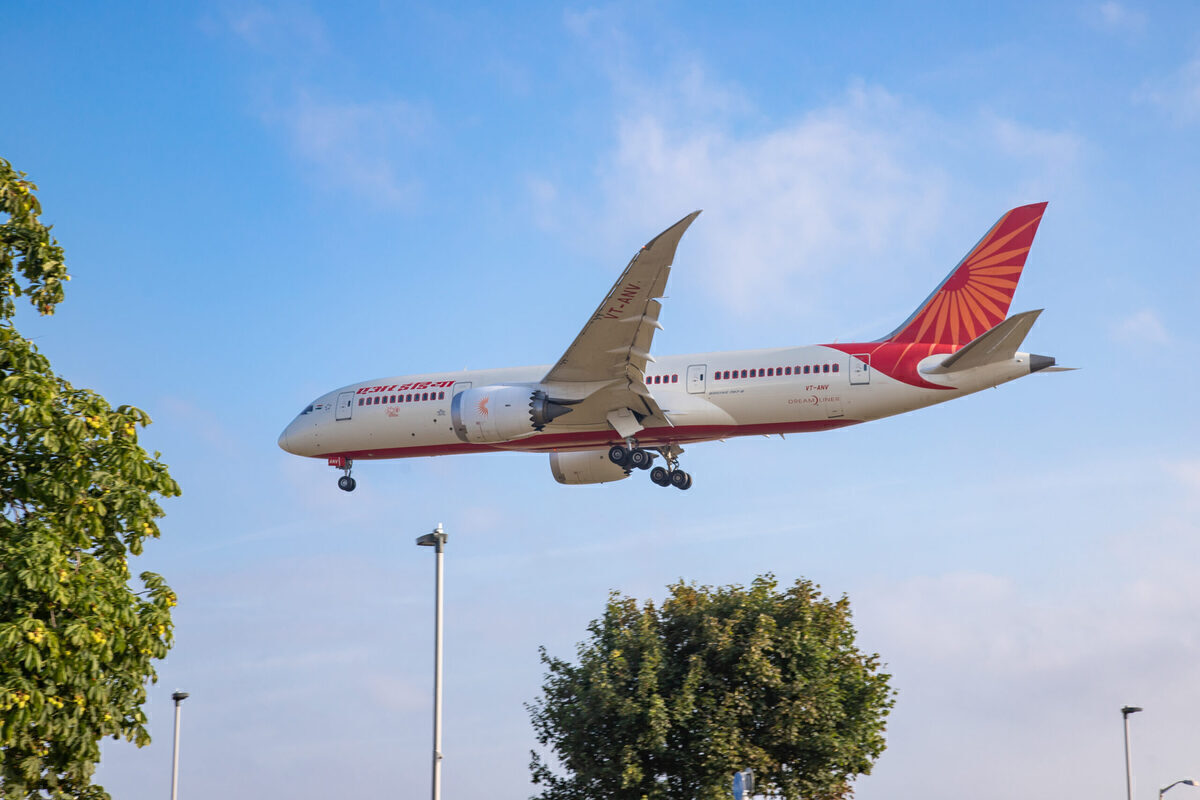 Air India Is Still Flying To London Despite UK Government Red List