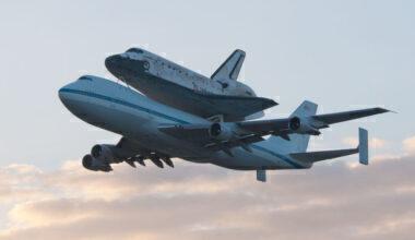 NASA Boeing 747 Shuttle Carrier Getty