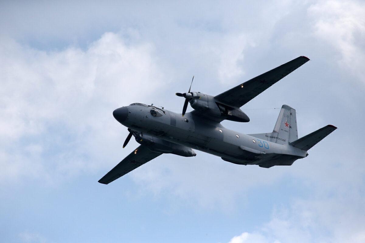 Antonov, An-26, lost propeller