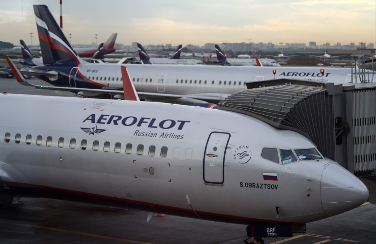 Aeroflot getty