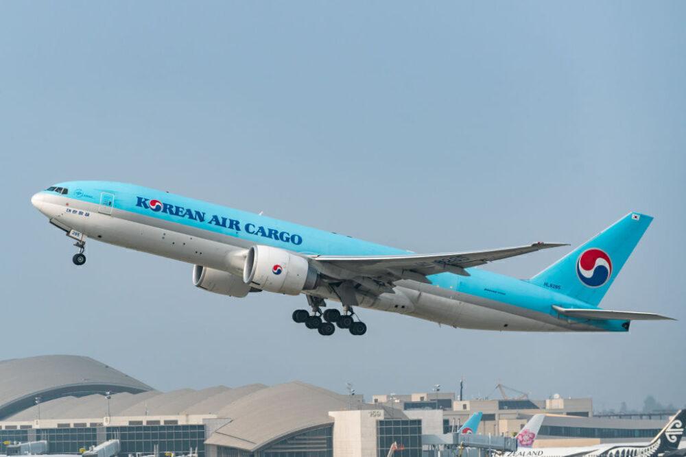 Korean Air Cargo Boeing 777F Getty
