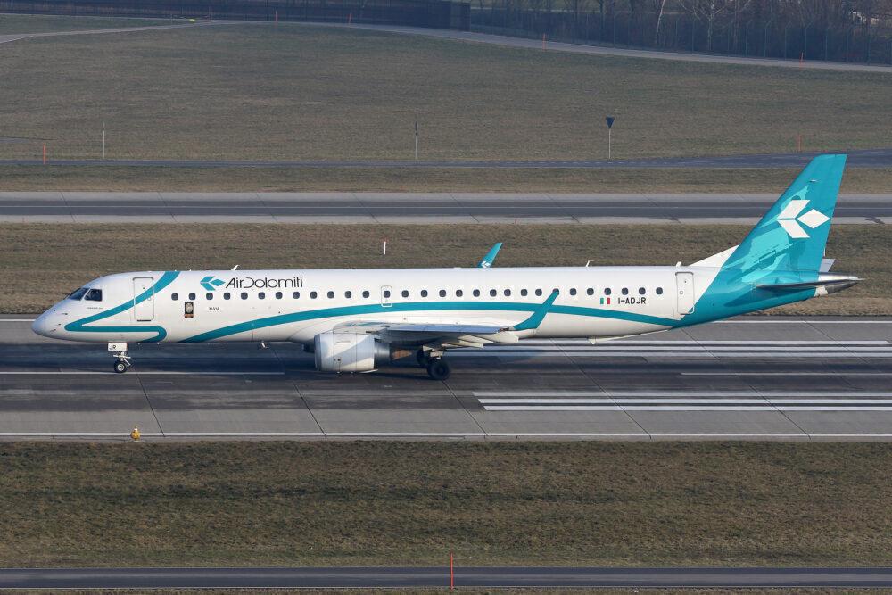 Air Dolomiti Embraer E-195 Getty