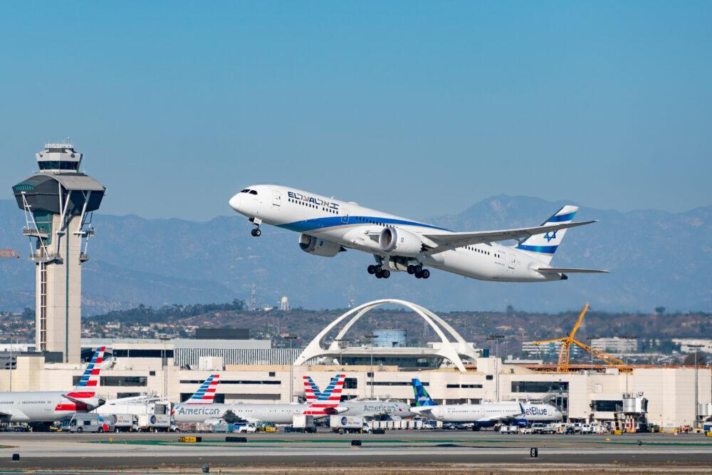 El Al Boeing 787 Getty