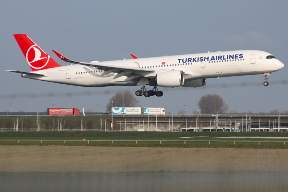 Turkish Airlines Airbus A350 Getty