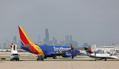 Southwest Airlines Boeing 737-700