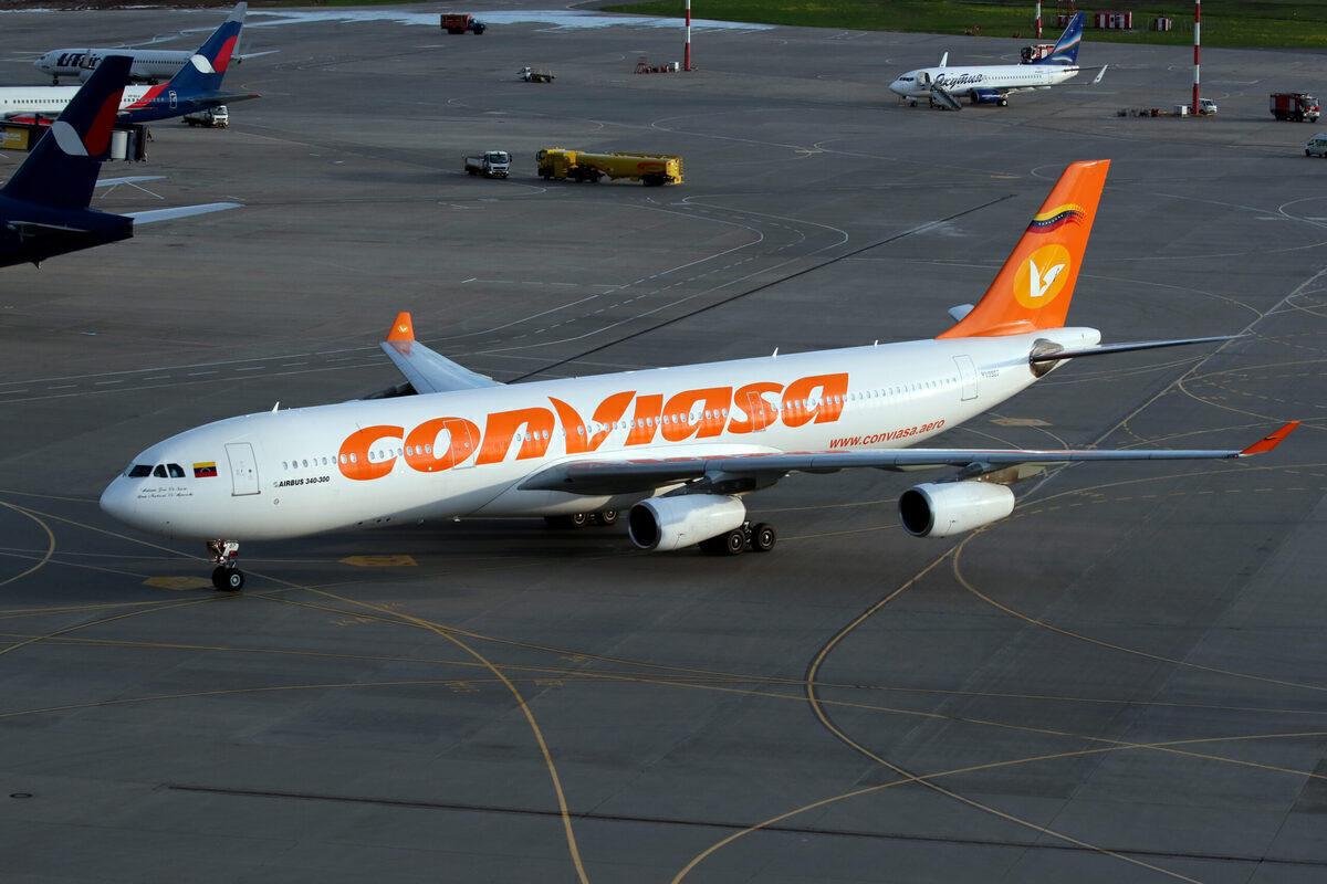 Conviasa A340-300 Getty