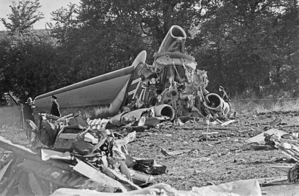 Staines Air Crash Trident