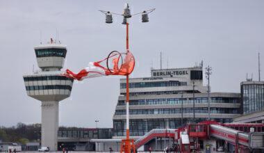 Berling Tegel Airport, Air France, Airport Closure