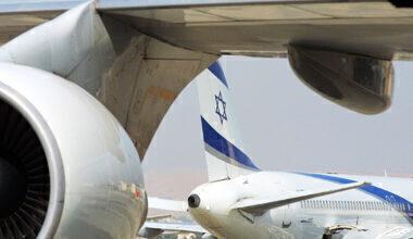El Al Israel planes Ben Gurion Airport
