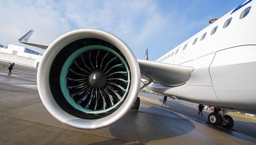 Lufthansa A320neo PW1000G Engine Getty