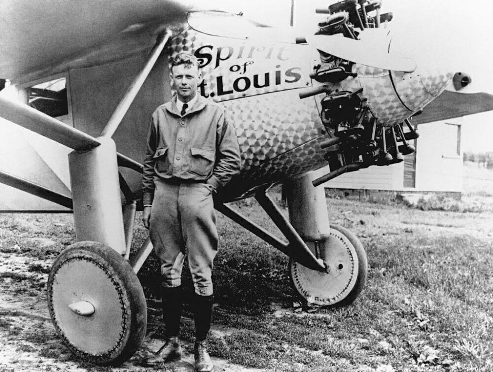 Charles Lindbergh Getty