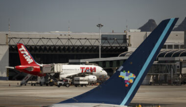 Tam and Azul Airlines