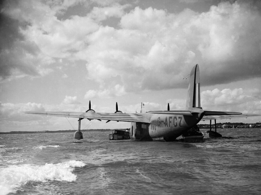 Shorts S30 Empire Flying Boat G-AFCZ Clare