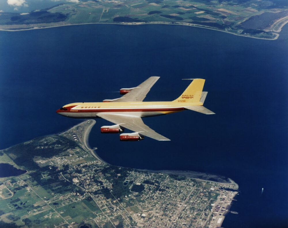 Boeing 367-80 Getty
