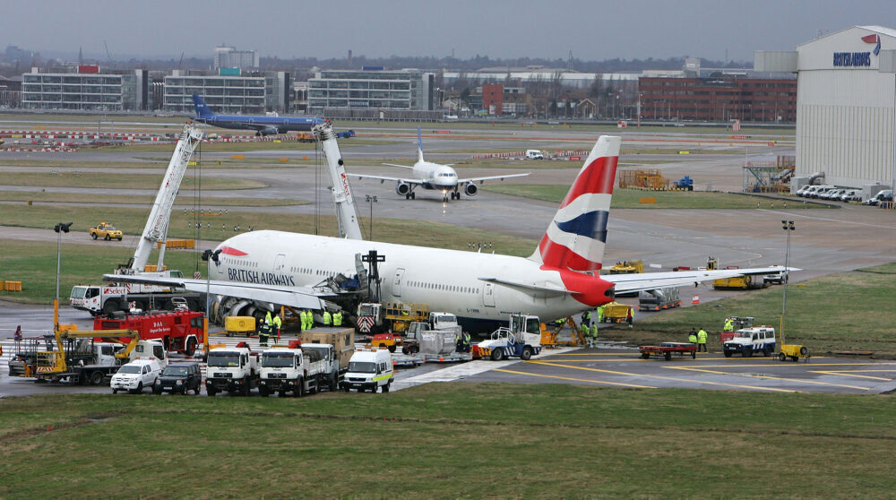 British Airways Boeing 777 BA38 Getty