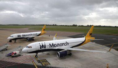 Monarch A320s Getty