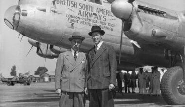 Alan Cobham And Don Bennett BSAA