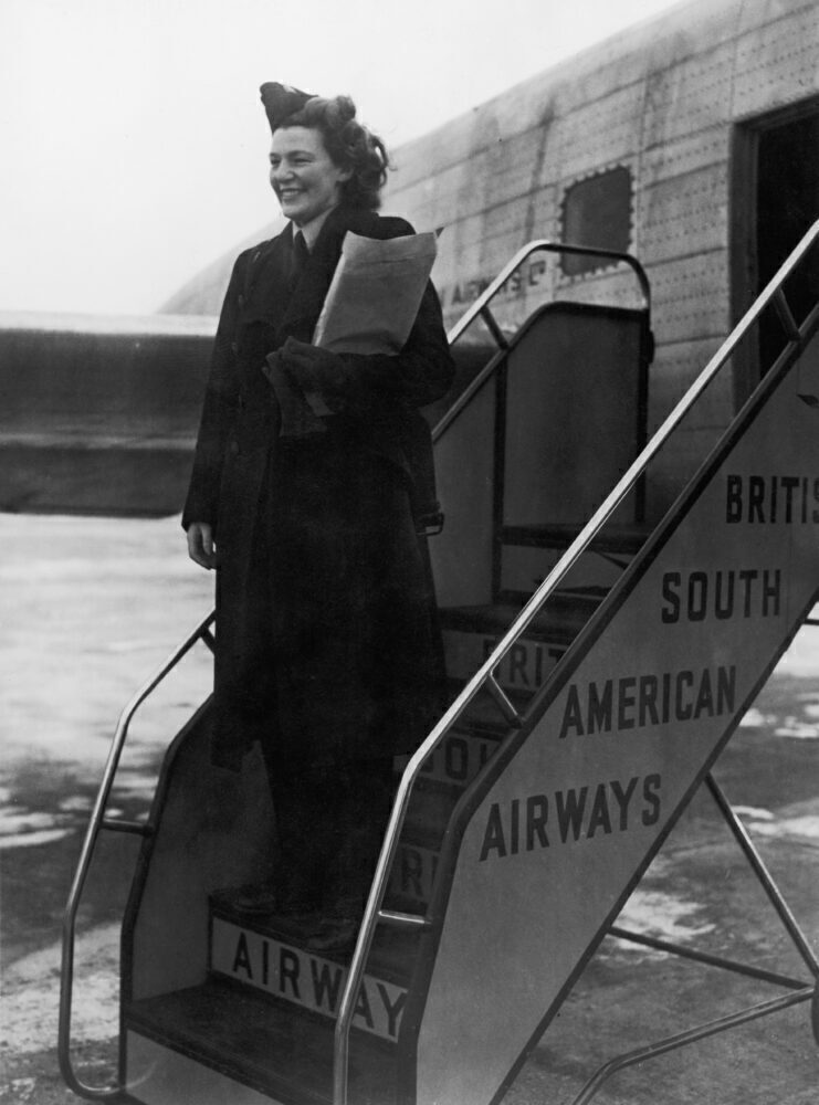 First Heathrow Flight BSAA