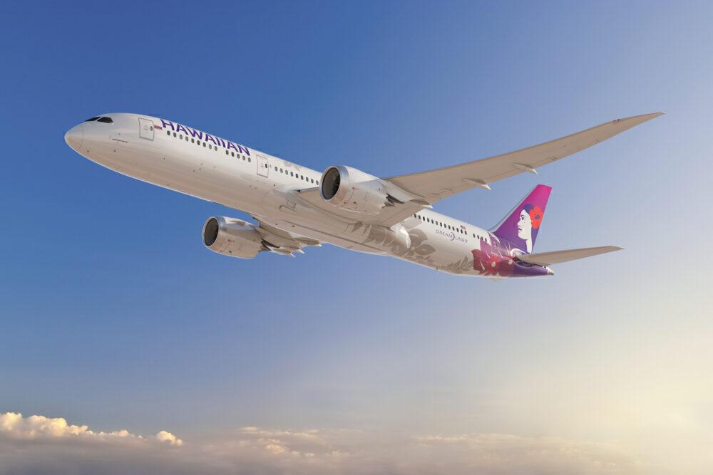 Boeing 787 Hawaiian