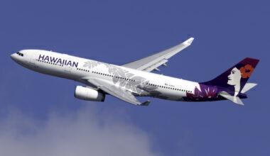 Hawaiian Airlines Airbus A330-243 N381HA (1)