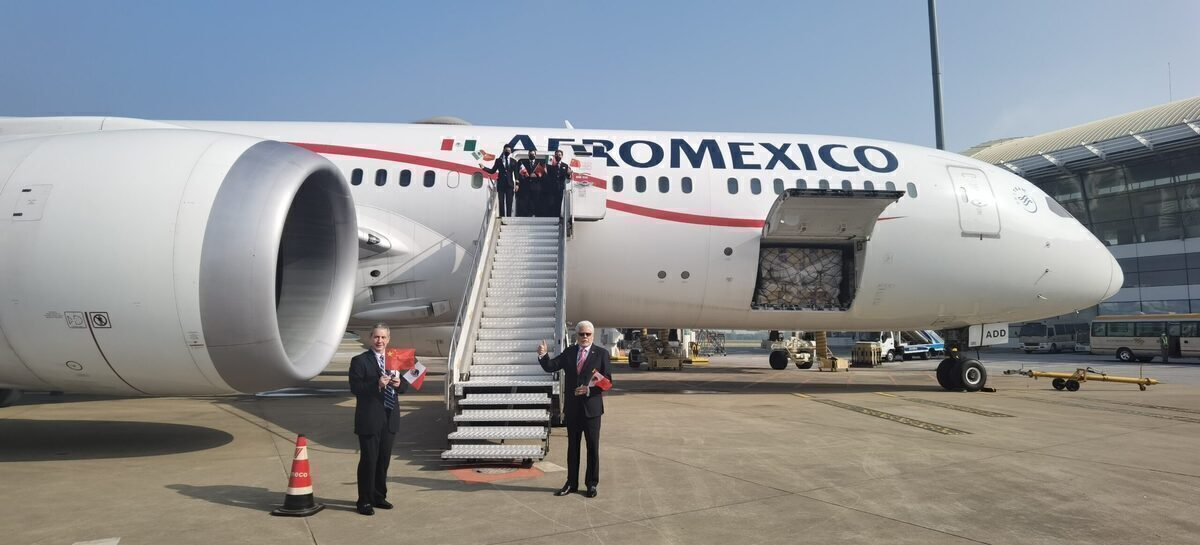 Aeromexico Launches Direct Cargo Flights To Wuhan, China