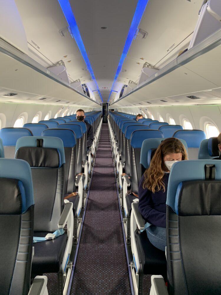 main cabin E195-E2