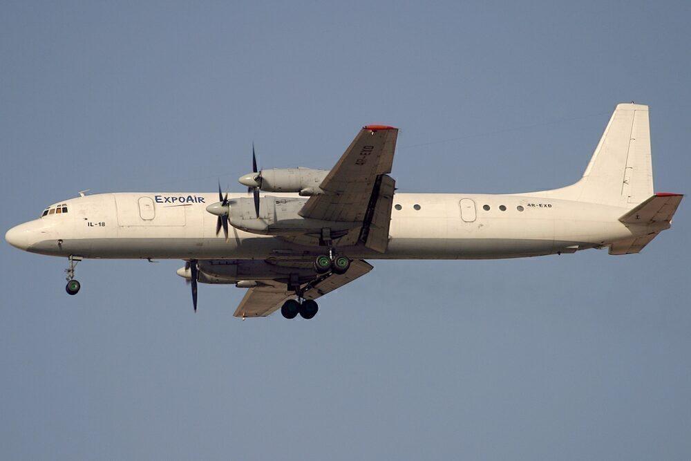 ExpoAir Ilyushin Il-18