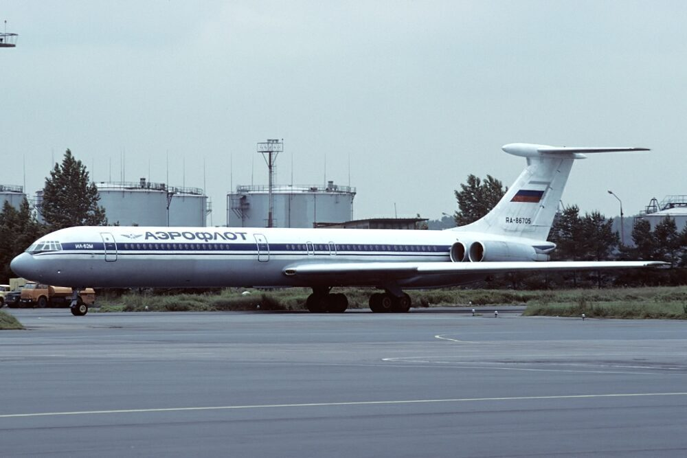 Aeroflot Ilyushin Il-62