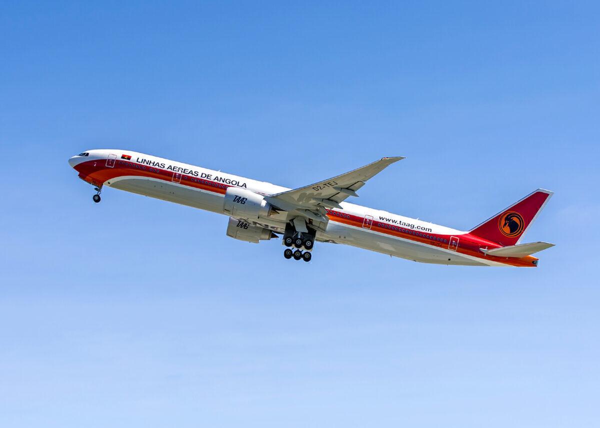 TAAG Angola 777-300ER ANG #13560-WE626 Delivery