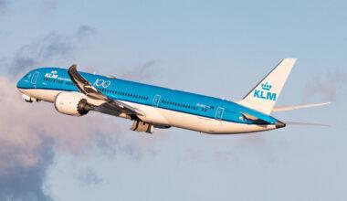 KLM Boeing 787-9 Dreamliner PH-BHG