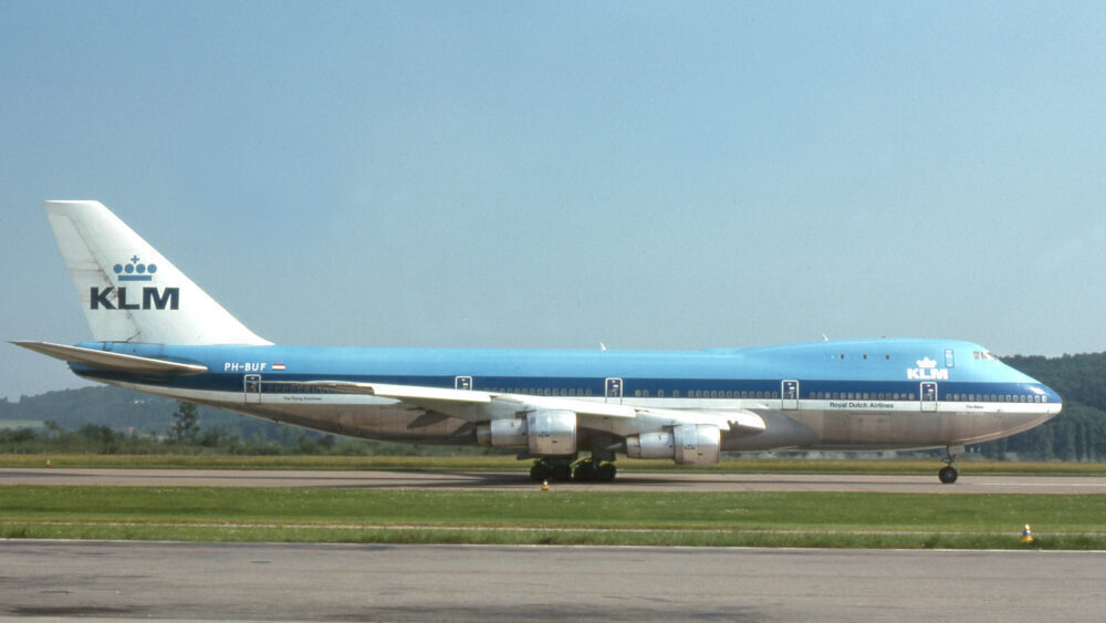 KLM 747-200