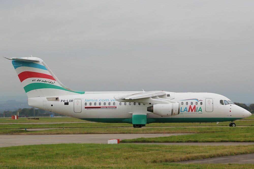 LaMia Avro RJ85
