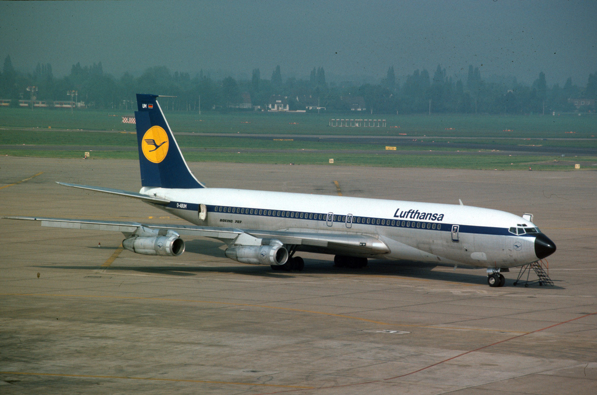 What Happened To Lufthansa's Boeing 707 Aircraft?