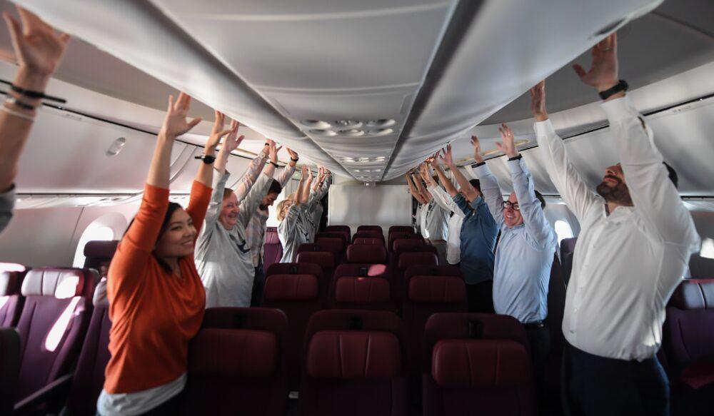 Qantas LHR SYD