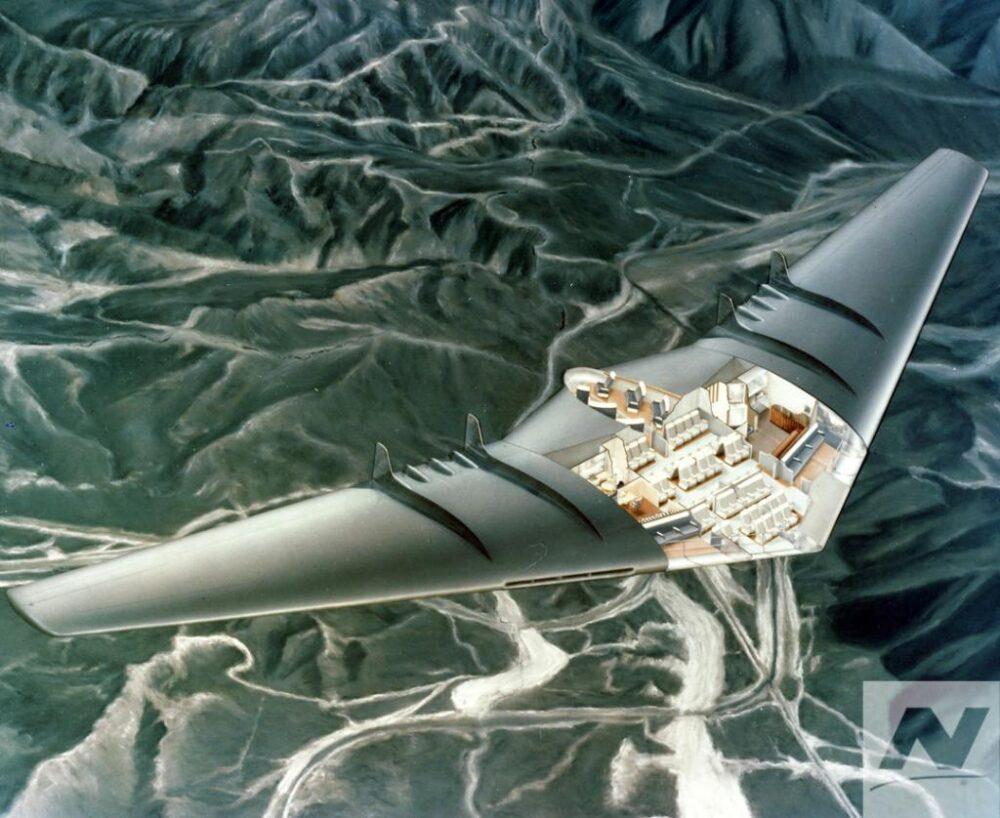 Northrop Grumman flying wing
