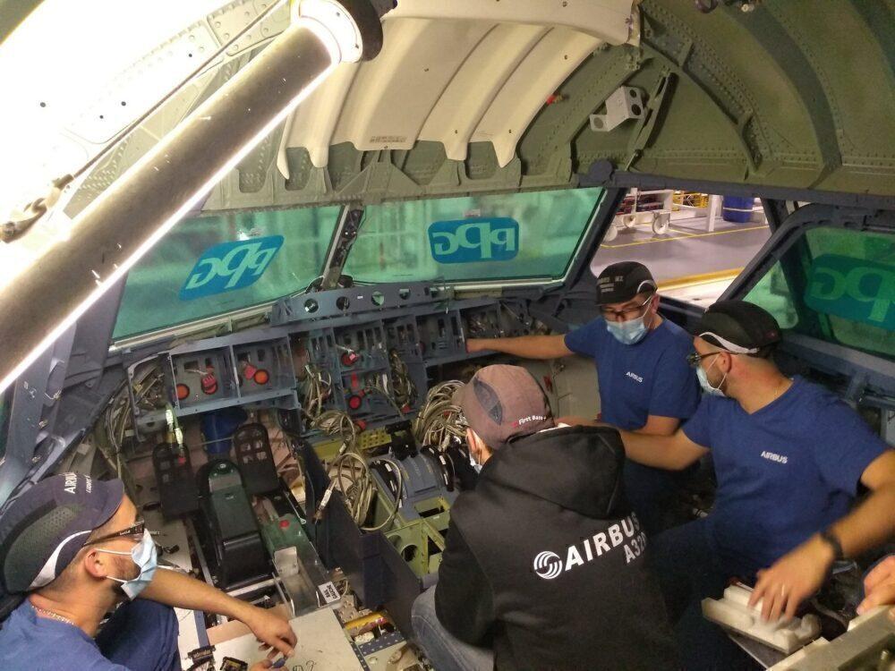 A321XLR mockup