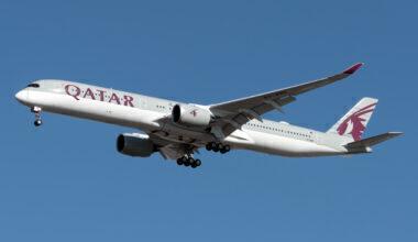 Qatar Airways Airbus A350-1041 A7-ANG