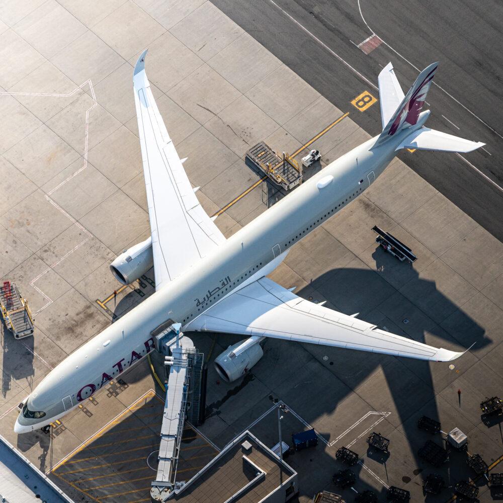 Qatar Airways Airbus A350-1041A7-ANN