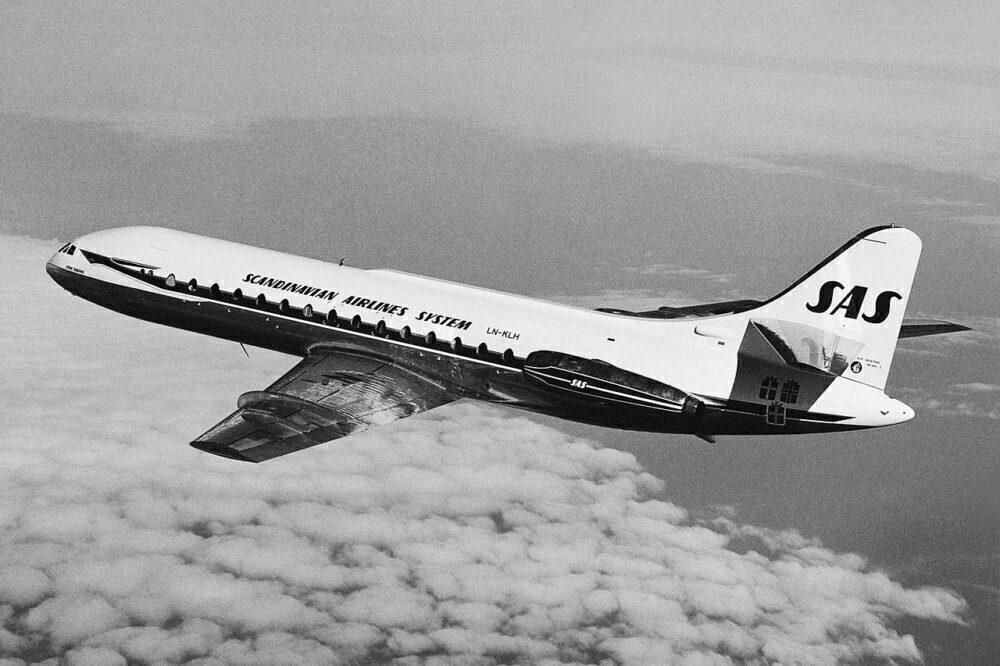 SAS Sud Aviation Caravelle