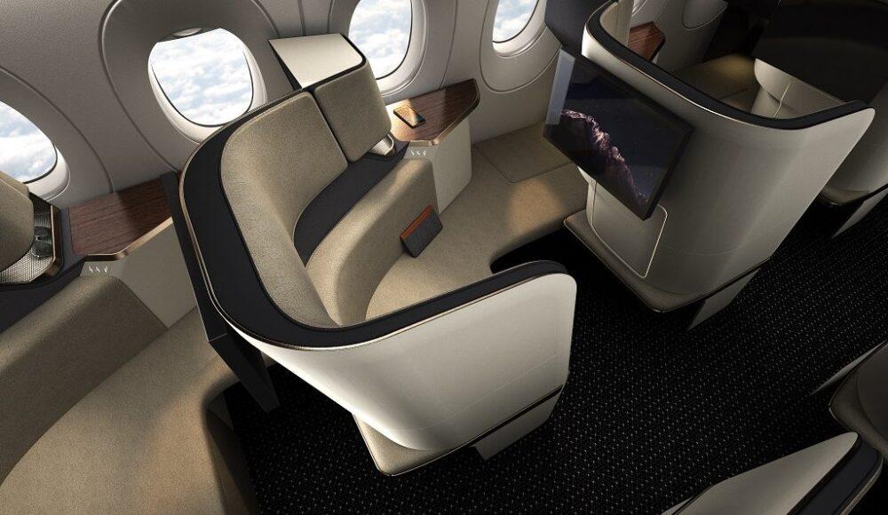 Safran Essential manual lie flat seat