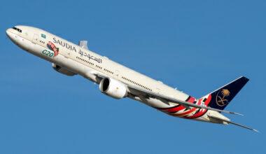 Saudia (G20 Saudi Arabia Livery) Boeing 777-368(ER) HZ-AK42 (2)