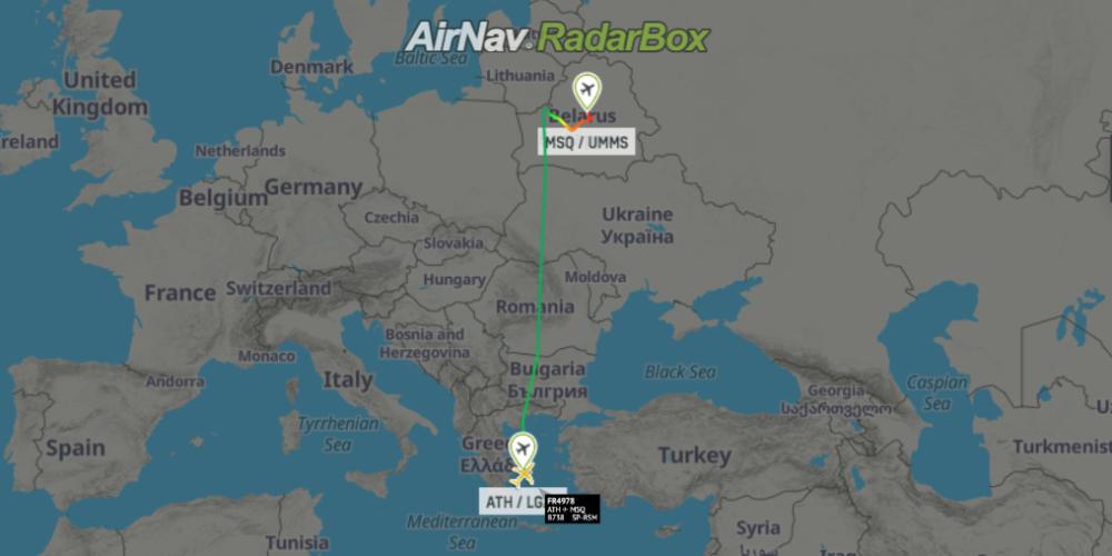 West slams Belarus over jet diversion, journalist arrest