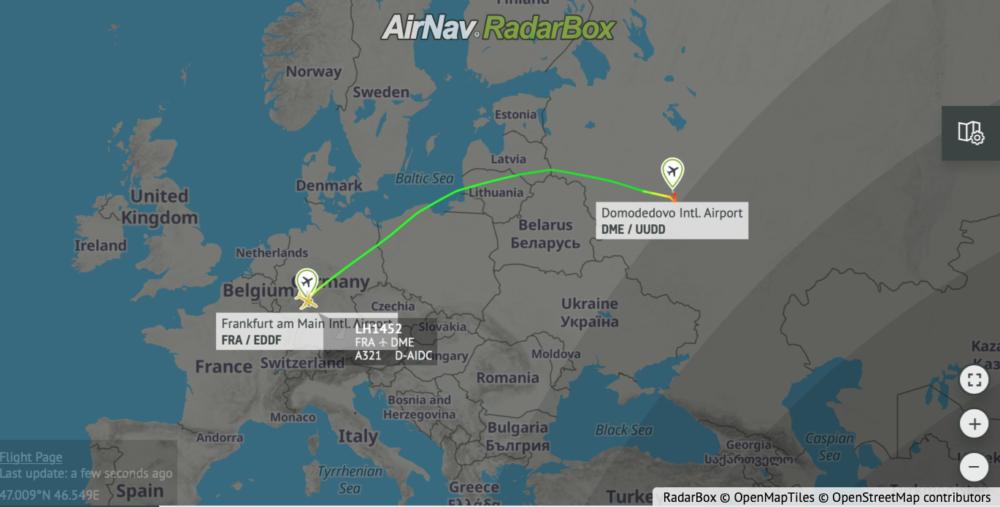 Lufthansa Suspends Belarus Operations