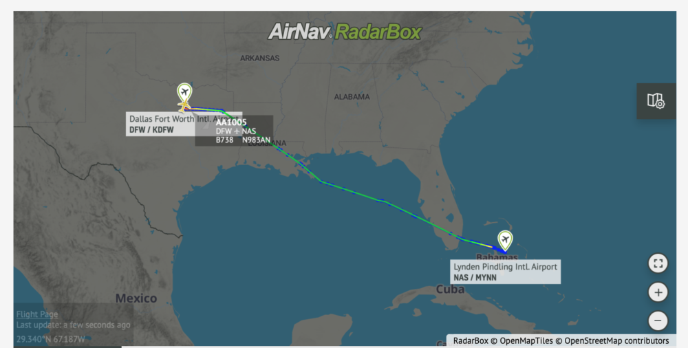 Wow: American Airlines Adds Stop To Flight To Pick Up Stranded Passengers