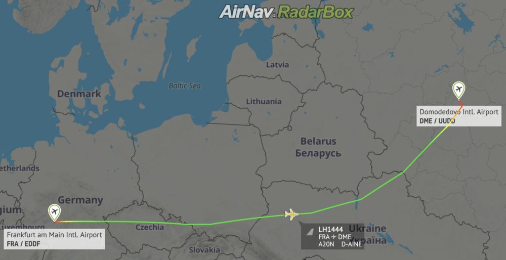 Lufthansa RadarBox