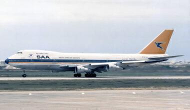 SAA Boeing 747-200M