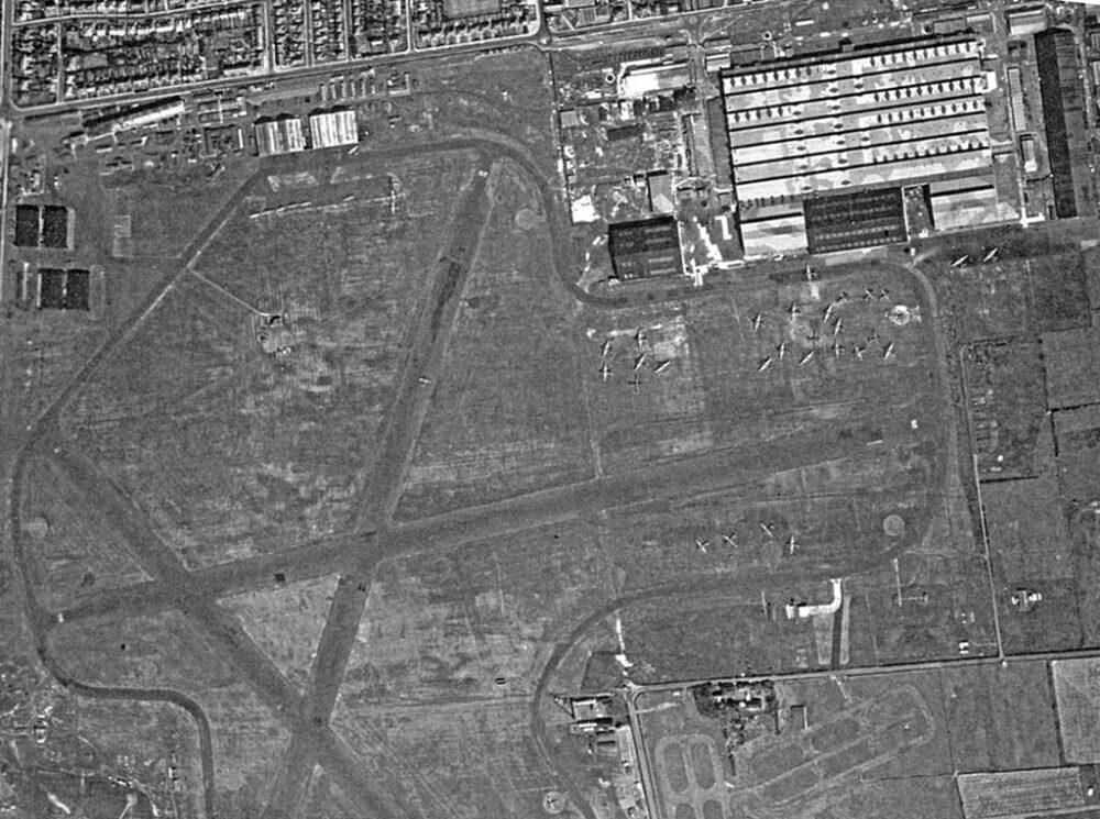 Blackpool Airport 1945
