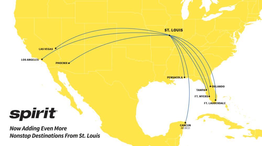 Spirit STL Route